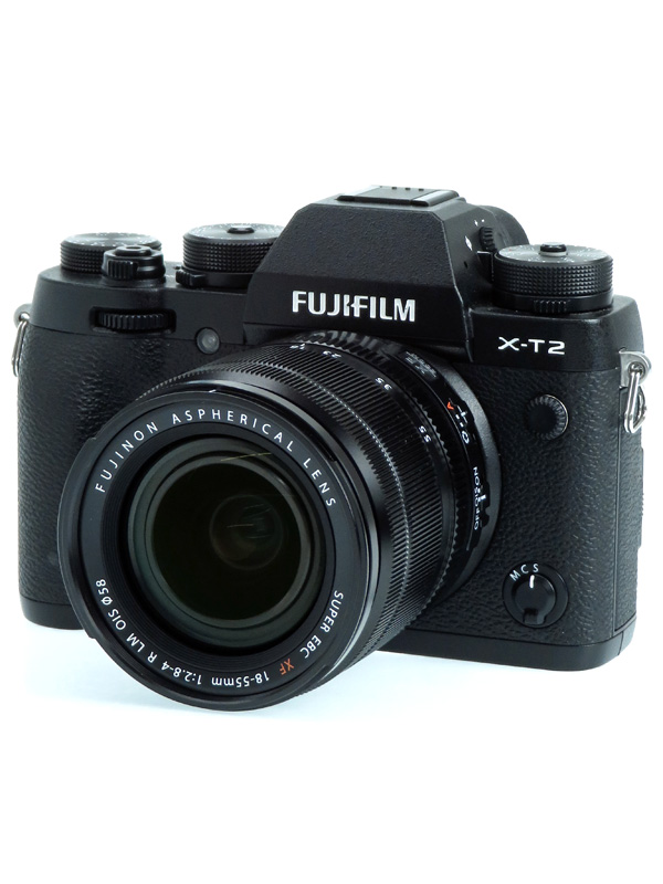【FUJIFILM】富士フイルム『X-T2ズームレンズキット』F X-T2LK-B 2430万画素 APS-C ミラーレス一眼カメラ 1週間保証【中古】b02e/h03AB