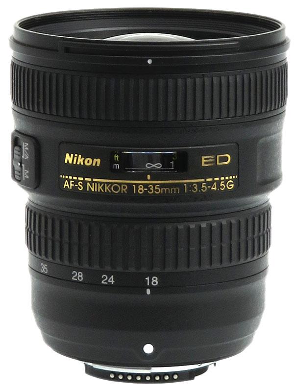 【Nikon】ニコン『AF-S NIKKOR 18-35mm f/3.5-4.5G ED』FXフォーマット 一眼レフカメラ用レンズ 1週間保証【中古】b03e/h11B
