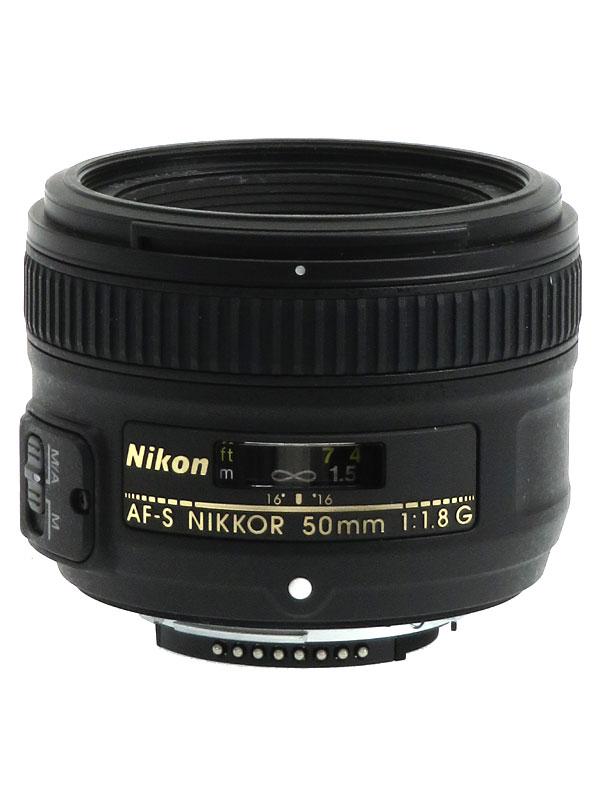 【Nikon】ニコン『AF-S NIKKOR 50mm f/1.8G』FXフォーマット 標準 一眼レフカメラ用レンズ 1週間保証【中古】b03e/h08B