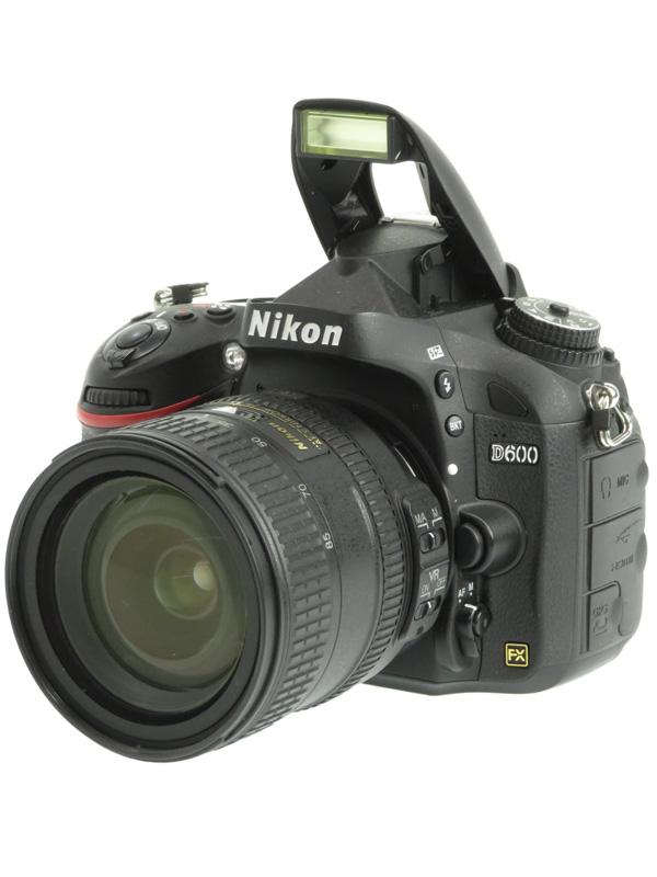 【Nikon】ニコン『D600 24-85 VR レンズキット』2426万画素 FXフォーマット フルHD動画 デジタル一眼レフカメラ 1週間保証【中古】b03e/h16B