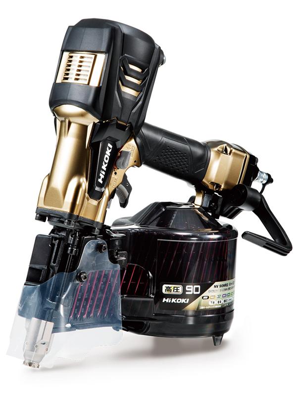 【HiKOKI】日立工機『高圧ロール釘打機』NV90HR2(S) 1週間保証【新品】b00t/N