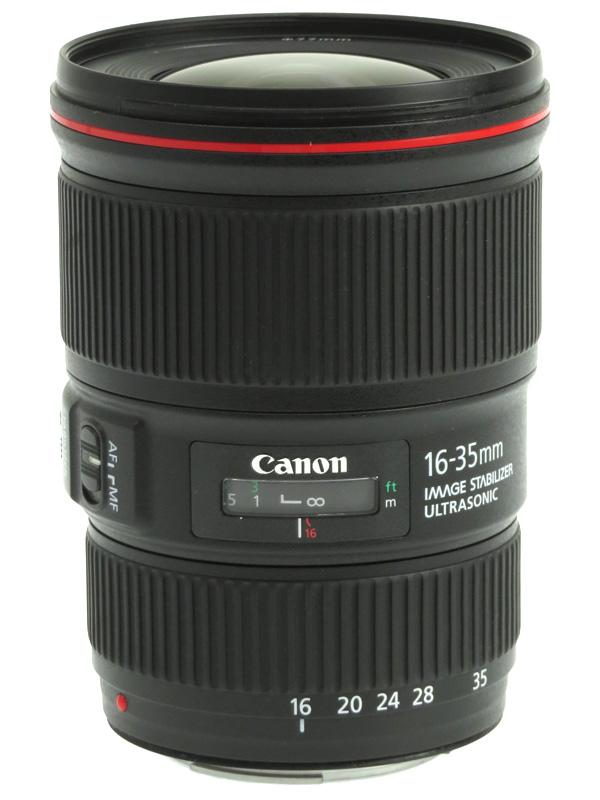 【Canon】キヤノン『EF16-35mm F4L IS USM』EF16-3540LIS 非球面 超広角ズーム 一眼レフカメラ用レンズ 1週間保証【中古】b05e/h12AB