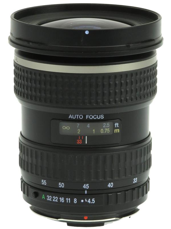 【PENTAX】ペンタックス『smc PENTAX-FA645 33-55mmF4.5AL』26-43.5mm相当 中判一眼レフカメラ用レンズ 1週間保証【中古】b05e/h22B