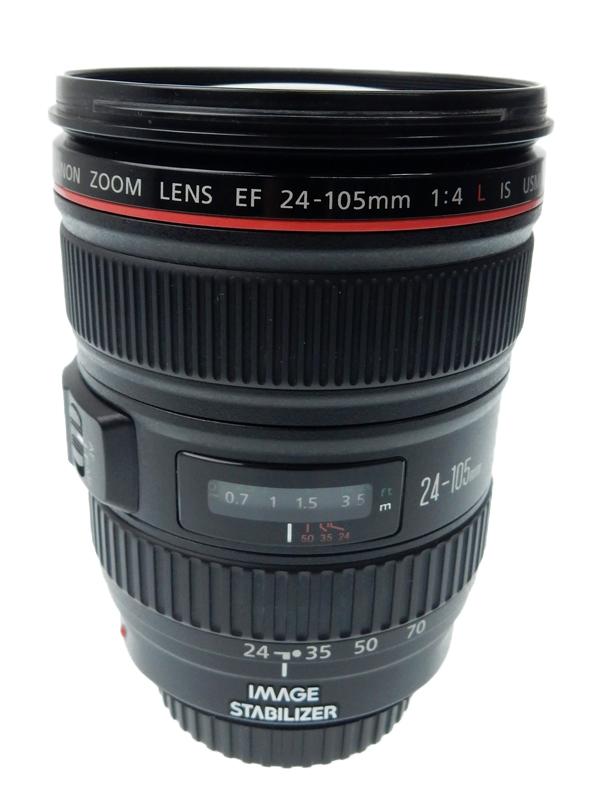 【Canon】キヤノン『EF24-105mm F4L IS USM』EF24-10540LIS フルサイズ対応 手ブレ補正 防塵・防滴 非球面レンズ レンズ 1週間保証【中古】b05e/h22AB