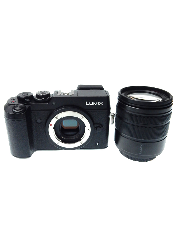 【Panasonic】パナソニック『LUMIX(ルミックス)G レンズキット』DMC-GX8H-K ブラック 2030万画素 SDXC 4K動画 ミラーレス一眼カメラ【中古】b02e/h03AB