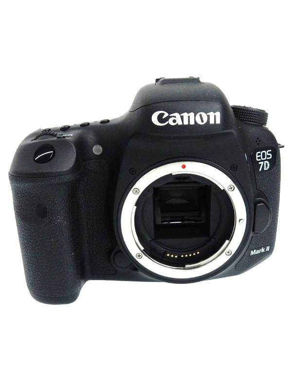 【Canon】【2014年発売】キヤノン『EOS 7D MarkII ボディ』EOS7DMK2 2020万画素 3インチ デジタル一眼レフカメラ 1週間保証【中古】b03e/h20AB