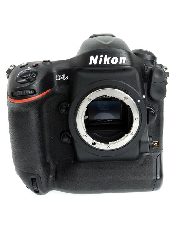 【Nikon】ニコン『D4S』1623万画素 FXフォーマット フルHD動画 ISO25600 ボディ デジタル一眼レフカメラ 1週間保証【中古】b02e/h03AB