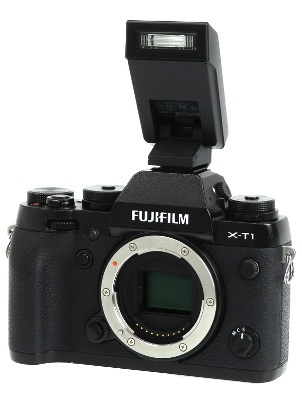 【FUJIFILM】富士フイルム『FUJIFILM X-T1 ボディ』F FX-X-T1B ブラック 1630万画素 APS-C ミラーレス一眼カメラ 1週間保証【中古】b02e/h04B