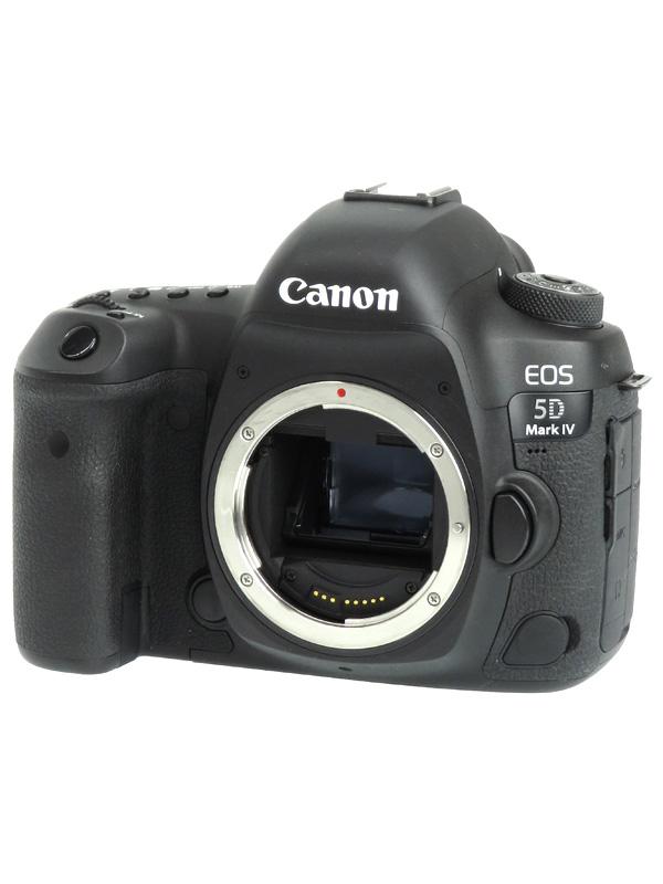 【Canon】キヤノン『EOS 5D Mark IV ボディー』EOS5DMK4 3040万画素 フルサイズ SDXC デジタル一眼レフカメラ 1週間保証【中古】b02e/h04B