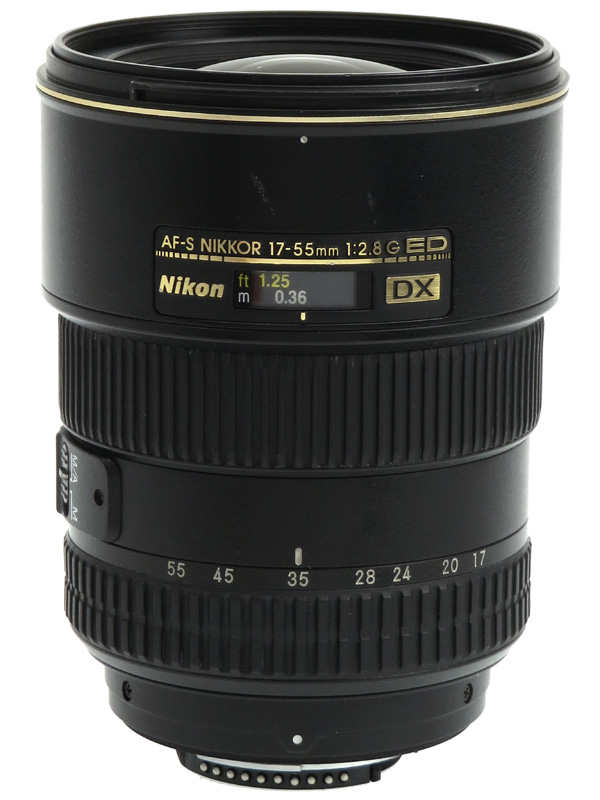 【Nikon】ニコン『AF-S DX Zoom-Nikkor 17-55mm f/2.8G IF-ED』25.5-82.5mm相当 デジタル一眼レフカメラ用レンズ 1週間保証【中古】b02e/h02B