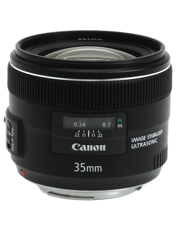 【Canon】キヤノン『EF35mm F2 IS USM』EF3520IS 非球面 広角単焦点 一眼レフカメラ用レンズ 1週間保証【中古】b02e/h09AB