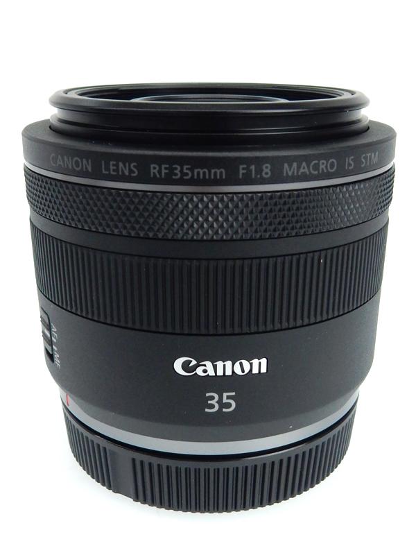 【Canon】キヤノン『RF35mm F1.8 MACRO IS STM』RF3518MISSTM ハーフマクロ ミラーレス一眼カメラ用レンズ 1週間保証【中古】b02e/h02A