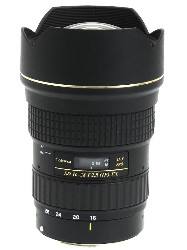 【Tokina】トキナー『AT-X 16-28 F2.8 PRO FX』キヤノンEFマウント フルサイズ 一眼レフカメラ用レンズ 1週間保証【中古】b03e/h06B