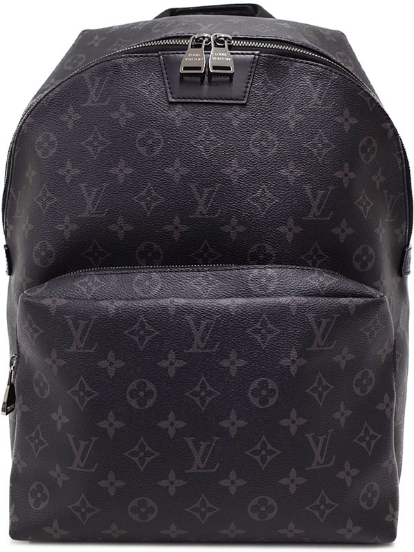 【LOUIS VUITTON】【リュックサック】ルイヴィトン『モノグラム エクリプス アポロ バックパック』M43186 メンズ 1週間保証【中古】b01b/h02A