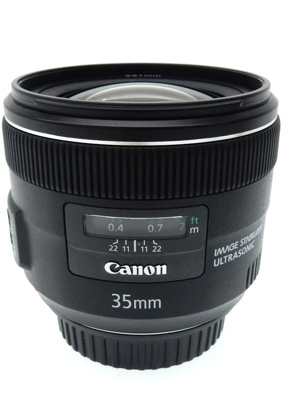 【Canon】キヤノン『EF35mm F2 IS USM』EF3520IS 非球面 広角単焦点 一眼レフカメラ用レンズ 1週間保証【中古】b02e/h22AB