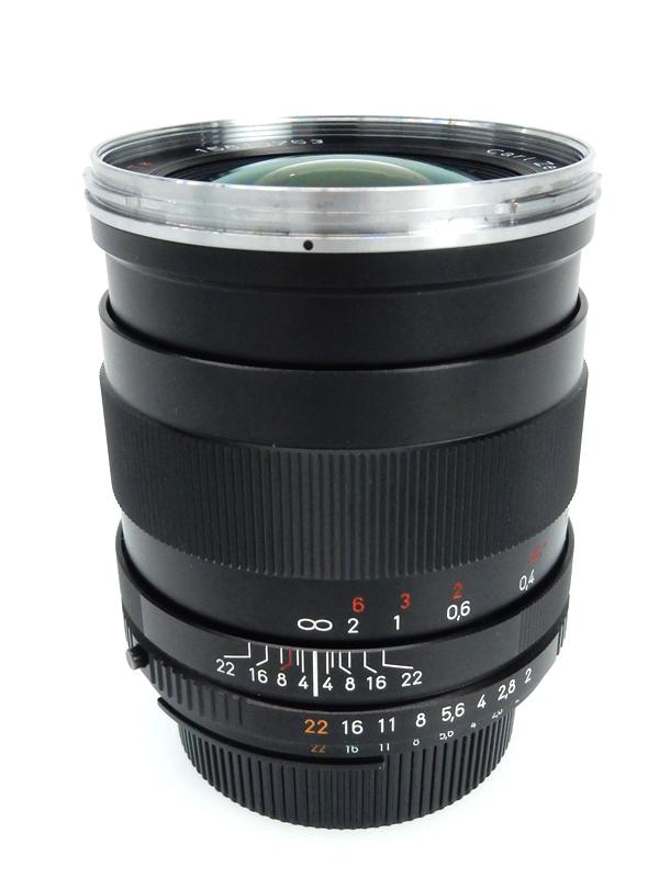 【Carl Zeiss】カールツァイス『Distagon T* 15mm F2.8』ニコンFマウント 焦点距離28mm フローティング機構 1週間保証【中古】b02e/h13B