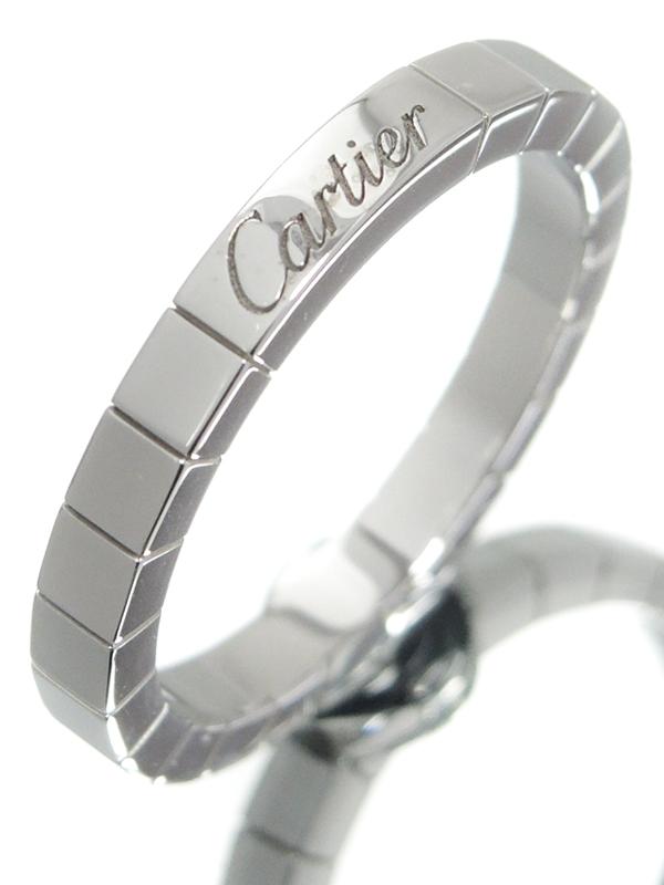 【Cartier】【仕上済】カルティエ『K18WG ラニエール リング』19.5号 1週間保証【中古】b01j/h02SA