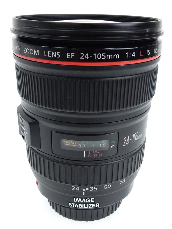 【Canon】キヤノン『EF24-105mm F4L IS USM』EF24-10540LIS フルサイズ対応 手ブレ補正 防塵・防滴 非球面レンズ レンズ 1週間保証【中古】b02e/h09AB