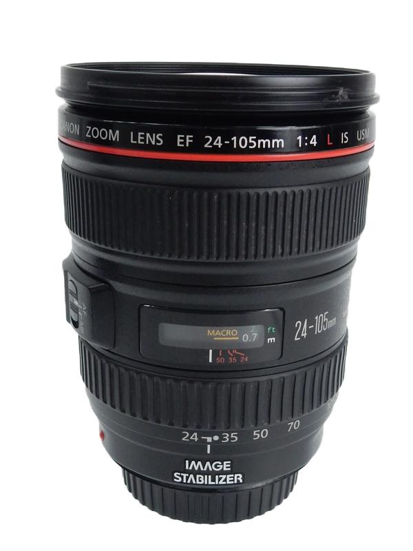 【Canon】キヤノン『EF24-105mm F4L IS USM』EF24-10540LIS フルサイズ対応 手ブレ補正 防塵・防滴 非球面レンズ レンズ 1週間保証【中古】b02e/h12AB