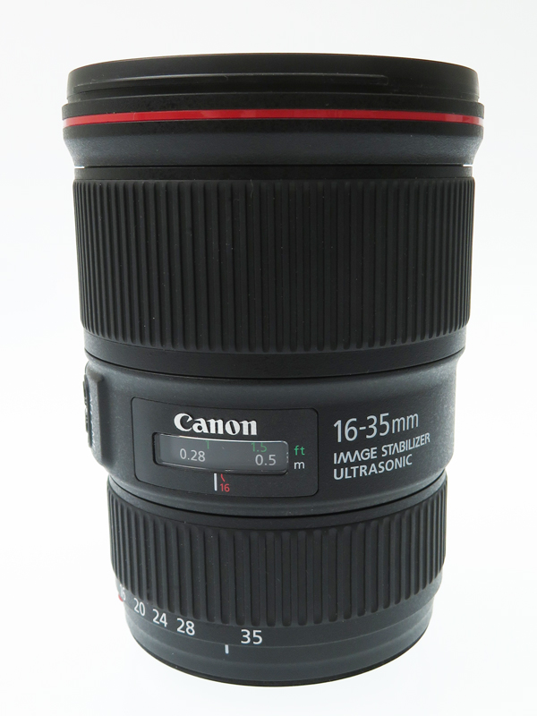【Canon】キヤノン『EF16-35mm F4L IS USM』EF16-3540LIS 非球面 超広角ズーム 一眼レフカメラ用レンズ 1週間保証【中古】b03e/h12AB