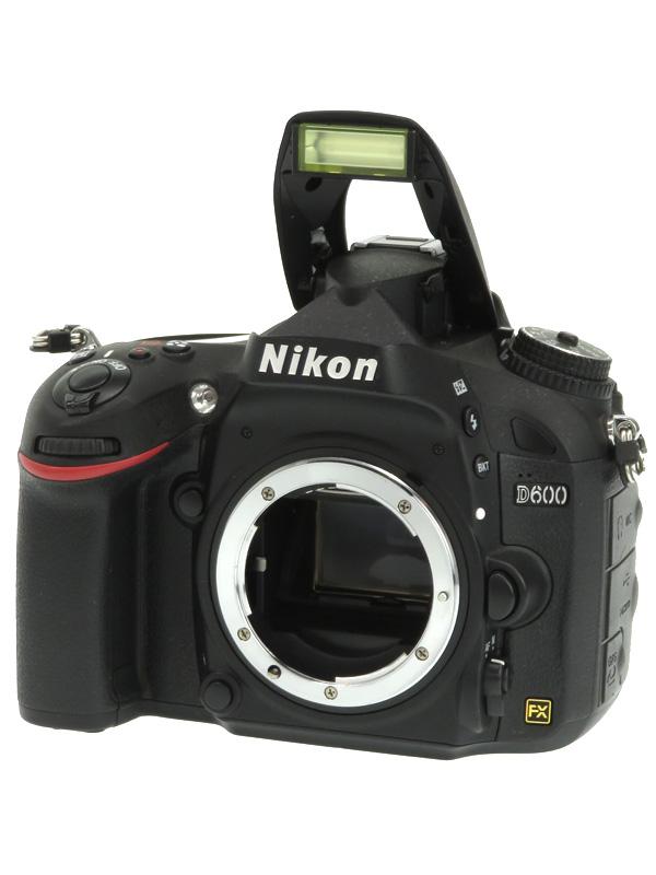 【Nikon】ニコン『D600』2426万画素 FXフォーマット ISO6400 フルHD動画 ボディー デジタル一眼レフカメラ 1週間保証【中古】b03e/h11B