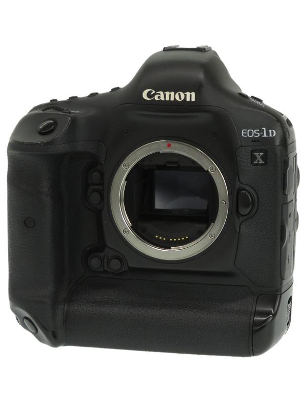 【Canon】キヤノン『EOS-1D Xボディー』EOS-1DX 1810万画素 フルサイズ CFカード デジタル一眼レフカメラ 1週間保証【中古】b03e/h20B