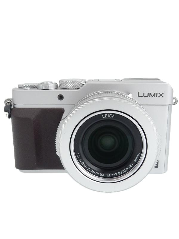 【Panasonic】パナソニック『LUMIX(ルミックス) LX100』DMC-LX100-S シルバー 280万画素 4/3型 コンパクトデジタルカメラ【中古】b03e/h08B