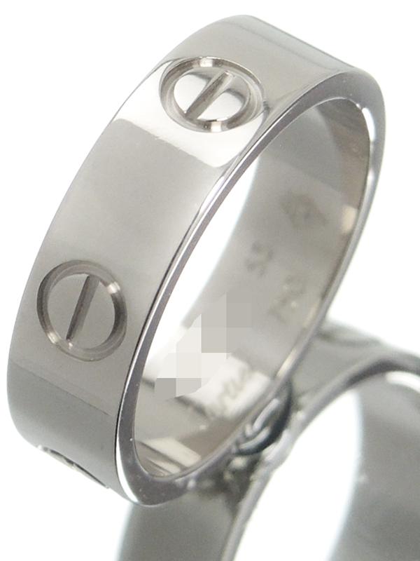 【Cartier】【仕上済】カルティエ『K18WG ラブリング』12.5号 1週間保証【中古】b06j/h17SA