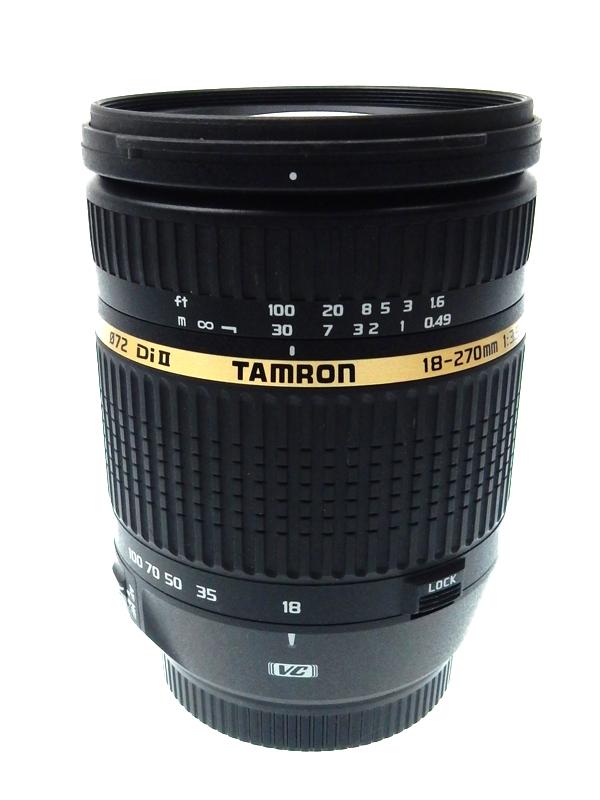 【TAMRON】タムロン『AF18-270mm F/3.5-6.3 Di II VC』B003E キヤノンEF-Sマウント 28-419mm相当 デジタル一眼レフカメラ用レンズ 1週間保証【中古】b02e/h02AB