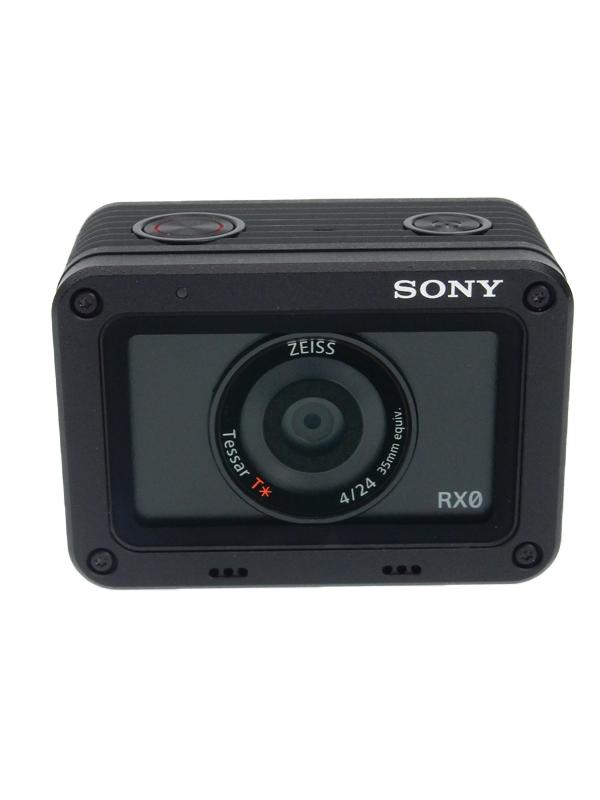 【SONY】ソニー『Cyber-shot(サイバーショット) デジタルスチルカメラ』DSC-RX0 1530万画素 1.5インチ 防水性 堅牢性 デジタルスチルカメラ 1週間保証【中古】b02e/h19AB