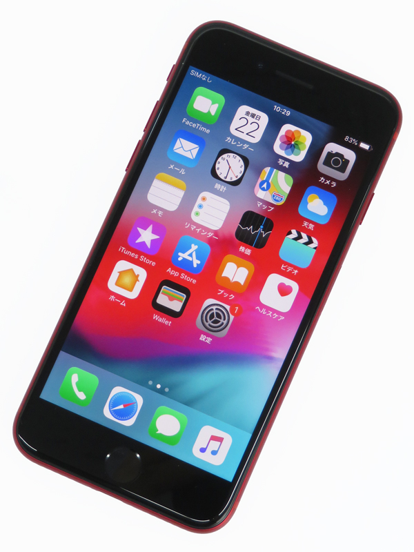 【Apple】【auのみ】アップル『 iPhone8 64GB au (PRODUCT)RED™』MRRY2J/A スマートフォン 1週間保証【中古】b06e/h06B