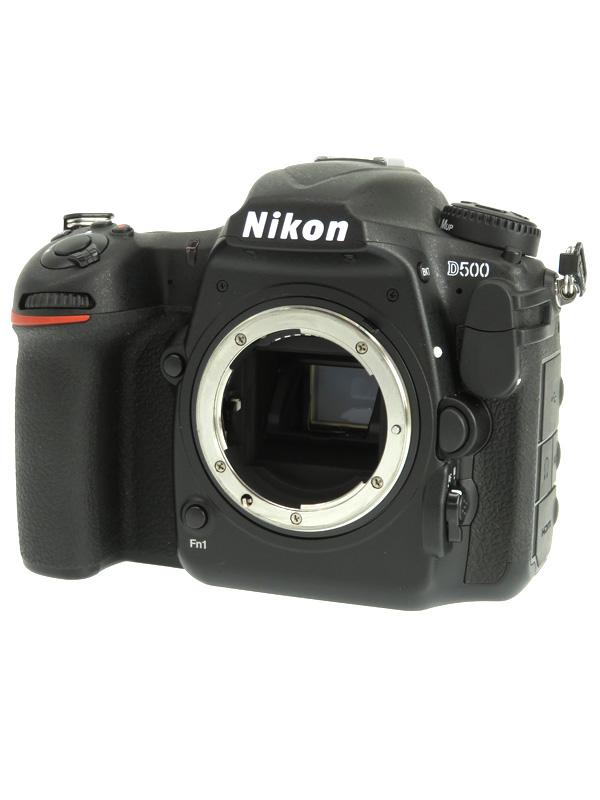 【Nikon】ニコン『D500 ボディ』2088万画素 DXフォーマット ISO51200 4K動画 Wi-Fi デジタル一眼レフカメラ 1週間保証【中古】b02e/h06AB
