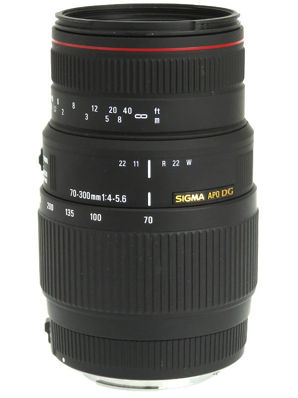 【SIGMA】シグマ『70-300mm F4-5.6 APO DG MACRO』キヤノンEFマウント 一眼レフカメラ用レンズ 1週間保証【中古】b02e/h19A