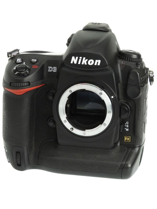 【Nikon】ニコン『D3ボディ』FXフォーマット 1210万画素 ISO6400 コンパクトフラッシュ デジタル一眼レフカメラ 1週間保証【中古】b02e/h03B