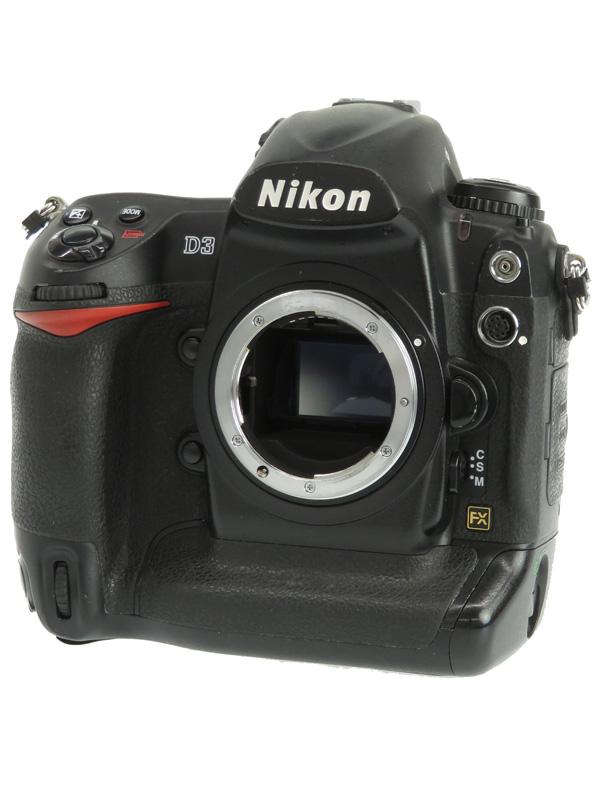 【Nikon】ニコン『D3ボディ』FXフォーマット 1210万画素 ISO6400 コンパクトフラッシュ デジタル一眼レフカメラ 1週間保証【中古】b05e/h10B