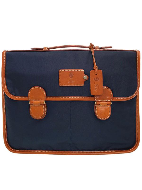 【Felisi】フェリージ『ナイロン ブリーフケース』1746 メンズ ビジネスバッグ 1週間保証【中古】b03b/h12AB