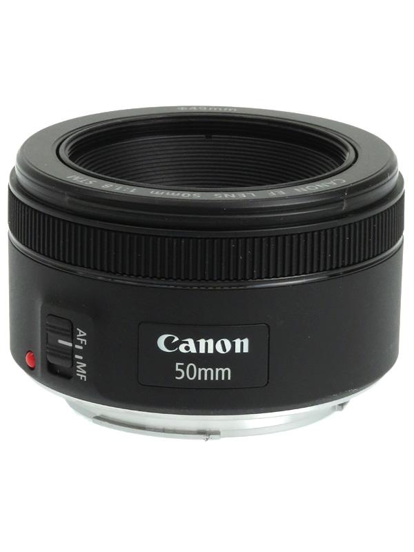 【Canon】キヤノン『EF50mm F1.8 STM』EF5018STM 標準 単焦点 ステッピングモーター 一眼レフカメラ用レンズ 1週間保証【中古】b06e/h17AB