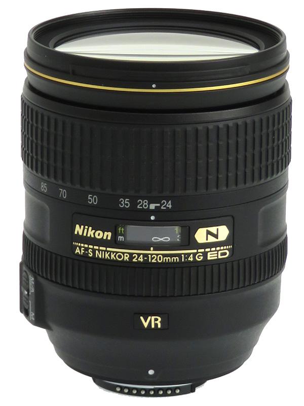 【Nikon】ニコン『AF-S NIKKOR 24-120mm f/4G ED VR』FXフォーマット 一眼レフカメラ用レンズ 1週間保証【中古】b03e/h20A