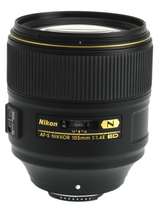 【Nikon】ニコン『AF-S NIKKOR 105mm f/1.4E ED』FXフォーマット デジタル一眼レフカメラ用レンズ 1週間保証【中古】b03e/h20AB