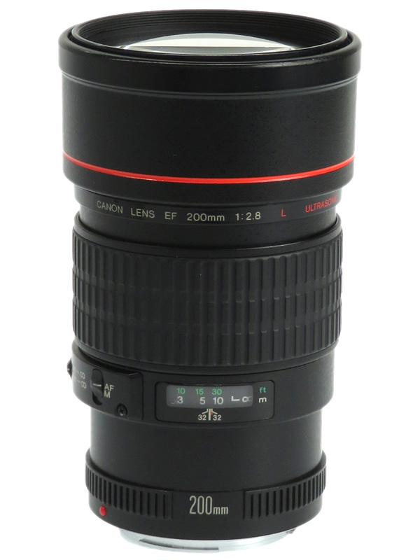 【Canon】キヤノン『EF200mm F2.8L USM』望遠 単焦点 一眼レフカメラ用レンズ 1週間保証【中古】b03e/h06B