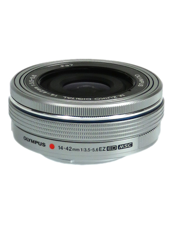 【OLYMPUS】オリンパス『M.ZUIKO DIGITAL ED 14-42mm F3.5-5.6 EZ』シルバー 28-84mm相当 F3.5-5.6 ミラーレス一眼カメラ用レンズ 14-42mm DIGITAL 1週間保証【中古】b03e/h07AB, ユヤチョウ:59829904 --- officewill.xsrv.jp