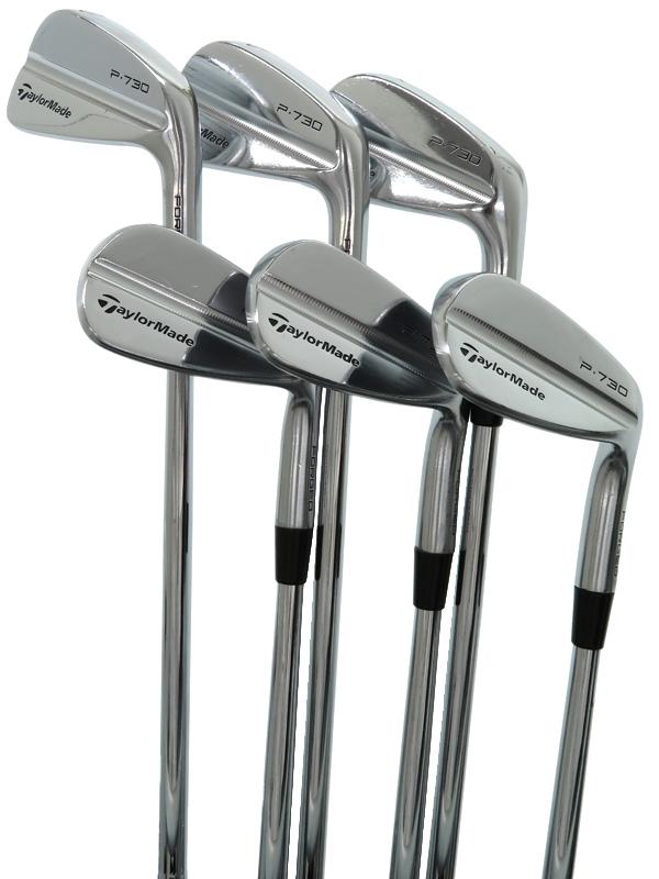 【TaylorMade Golf】テーラーメイドゴルフ『P730 アイアン 6本セット N.S.PRO MODUS3 SYSTEM3 TOUR125』#5-9 PW 右利き ゴルフクラブ 1週間保証【中古】b06e/h17B