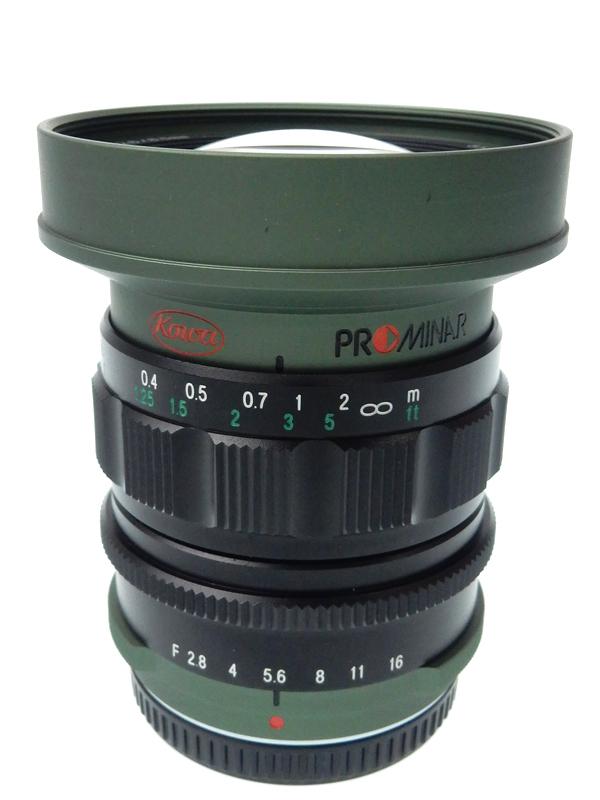 【KOWA】【PROMINAR】【オリンパス用】プロミナー『8.5mm F2.8 マイクロフォーサーズマウント系 グリーン』レンズ 1週間保証【中古】b03e/h07AB