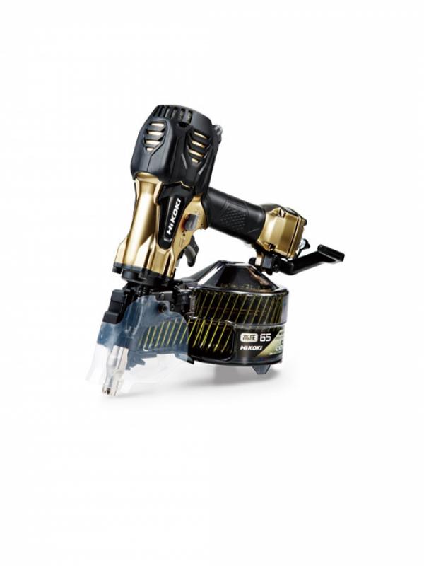 営業 HiKOKI 日立工機 高圧ロール釘打機 NV65HR2 N 新品 パワー切り替え機構なし 激安 ハイゴールド 1週間保証 65mm