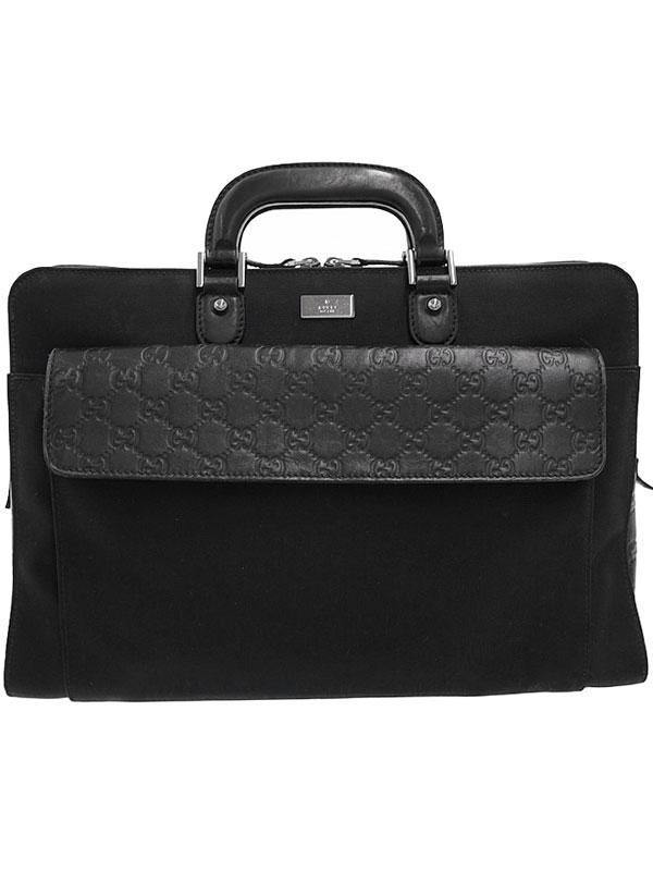 【GUCCI】グッチ『ブリーフケース』181087 メンズ ビジネスバッグ 1週間保証【中古】b03b/h15AB