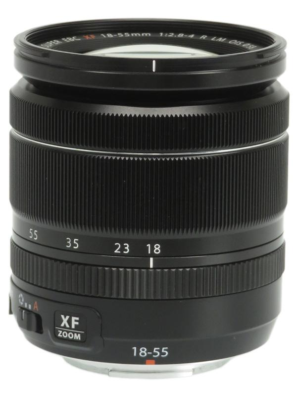 【FUJIFILM】富士フイルム『FUJINON XF18-55mmF2.8-4 R LM OIS』27-84mm相当 標準ズーム ミラーレス一眼カメラ用レンズ 1週間保証【中古】b06e/h16AB