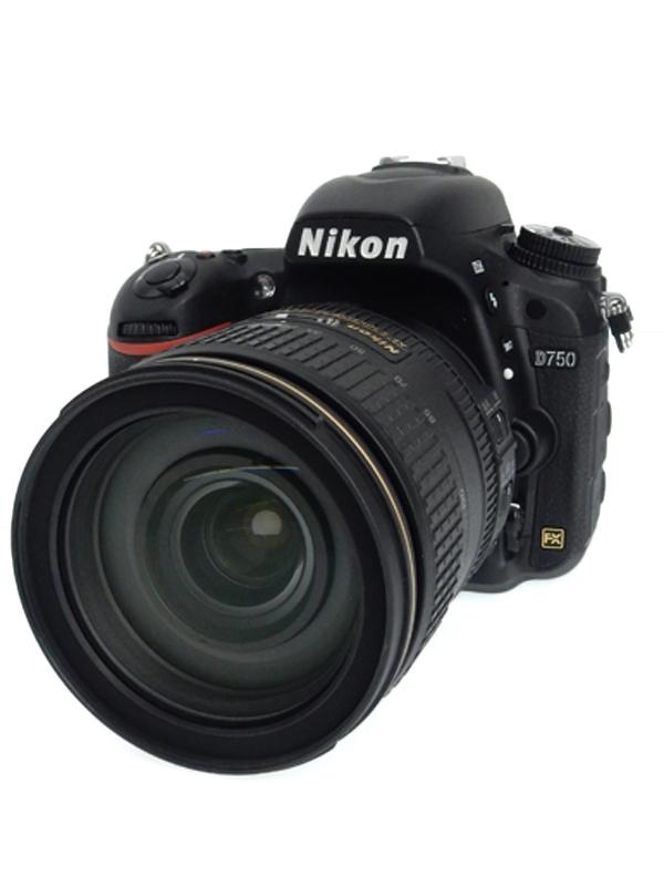 【Nikon】ニコン『D750 24-120 VR レンズキット』2432万画素 FXフォーマット SDXC デジタル一眼レフカメラ 1週間保証【中古】b02e/h21AB