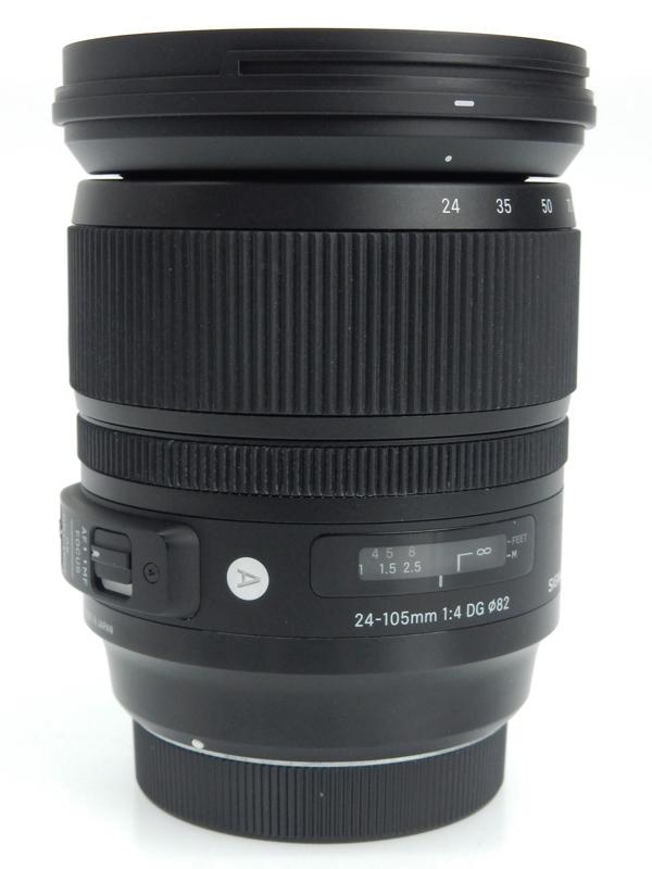 【SIGMA】シグマ『ART 24-105mm F1:4 DG OS HSM キヤノン用』カメラ用交換レンズ 1週間保証【中古】b02e/h04AB