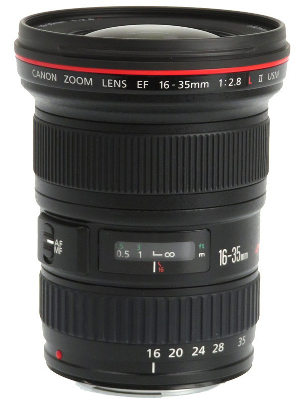 【Canon】キヤノン『EF16-35mm F2.8L II USM』EF16-35L2 超広角ズーム 一眼レフカメラ用レンズ 1週間保証【中古】b03e/h11AB