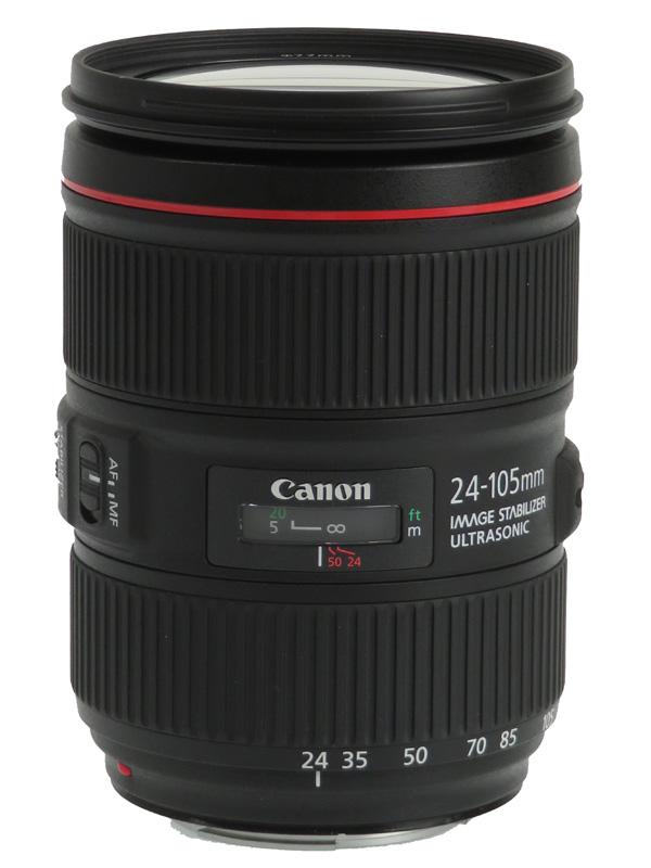 【Canon】キヤノン『EF24-105mm F4L IS II USM』EF24-10540LIS2 非球面 標準ズーム 一眼レフカメラ用レンズ 1週間保証【中古】b03e/h11AB
